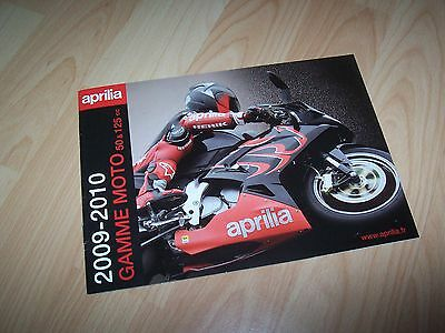 Catalogue / Brochure APRILIA 2009 / 2010 //