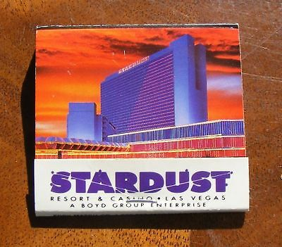STARDUST Resort & Casino Match Book Las Vegas
