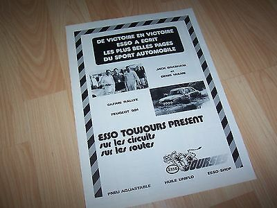 Publicité magazine / Original Advertising ESSO 1977 //