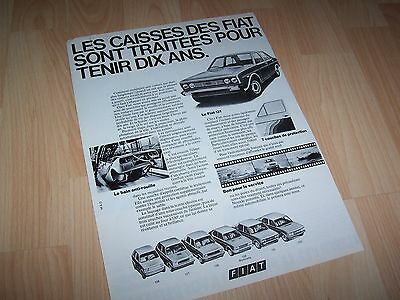 Publicité magazine / Original Advertising FIAT 131 //