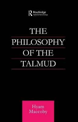 Philosophy of the Talmud by Hyam Maccoby (English) Paperback Book Free Shipping!