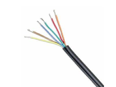 Points & Signal 6 Core Multicore Cable 7/0.2mm (by the 5 Metres)(CB601)