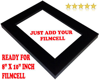 "Black Photo Filmcell 8"" x 10"" frame  (Protect your collectable) Over 400+ sold"