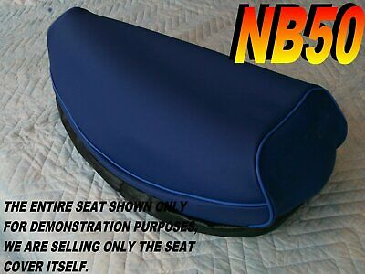 NB50  1985-86 AERO 50 Replacement seat cover for Honda NB50M blue 022A