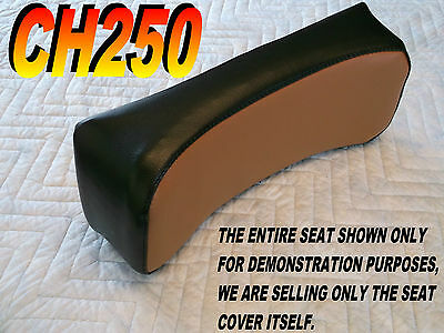 CH250 back rest seat cover for Honda CH 250 ELITE SPACY FREEWAY Black brown 135B