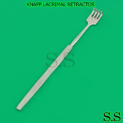 O.r Grade Knapp Lacrimal Retractor 4 Prongs Sharp Ophthalmic Instrument
