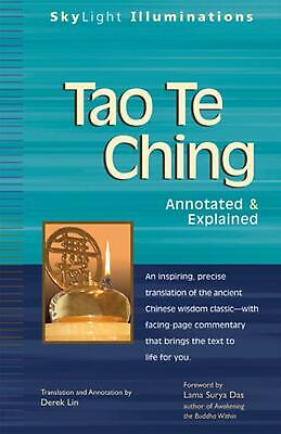 Tao Te Ching: Annotated & Explained by Derek Lin (English) Paperback Book Free S