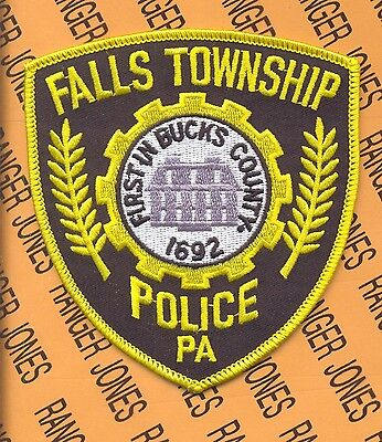FALLS TOWNSHIP PENNSLYVANIA POLICE DEPT FTPD SO LEO patch