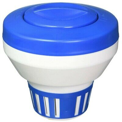 "New Floating 1"" or 3"" Chlorine Tablet Dispenser for Swimming Pool, Spa"