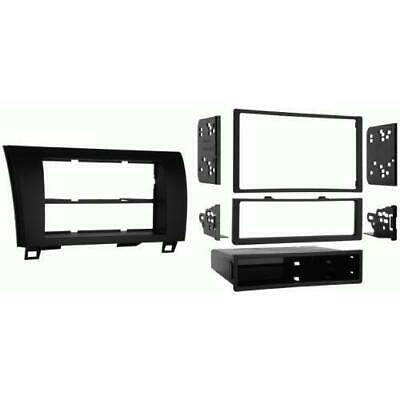 Metra 99-8220 Single/Double DIN Stereo Dash Kit for 07-up Toyota Tundra/Sequoia