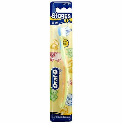 Oral-B Stage 1 4-24 Months Toothbrush *