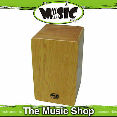 New MP Mini Cajon Drum with Adjustable Snare wires - Natural Maple Finish MP987M