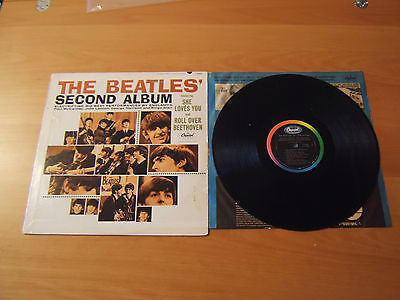 The Beatles Second Album -  Lp Capitol T 2080 - Beatles - Made In Usa