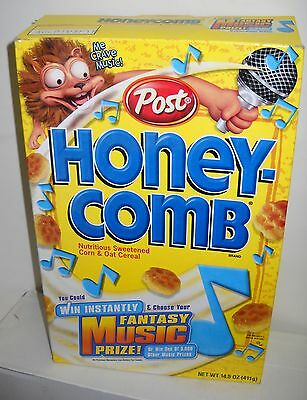 #2368 POST Honey Combs Cereal BOX ONLY