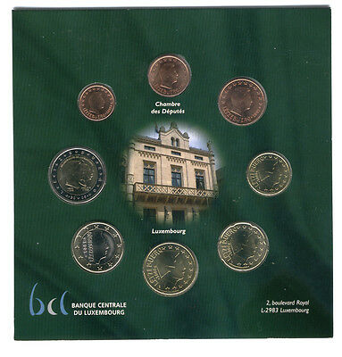 Luxembourg 2005 - Official (BU) Euro Coin Set