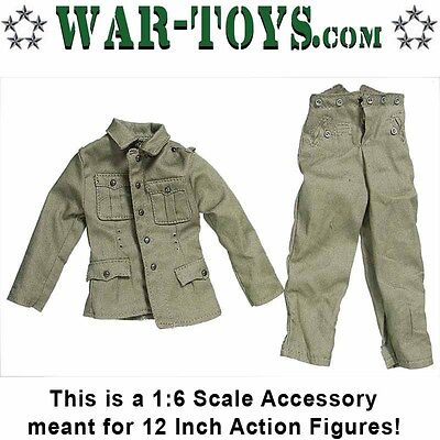 Green Camo Smock Ernst 1//6 Scale Dragon Action Figures