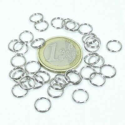 700 Anillas Dobles 5mm T170 Acero Anelli Anneau Double Ring Ringe Fáinní Ringer