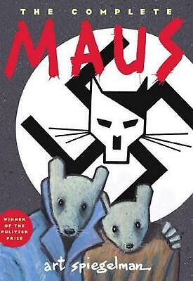 The Complete Maus by Art Spiegelman Paperback Book Free Shipping!