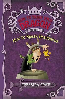 How to Speak Dragonese by Cressida Cowell (English) Hardcover Book Free Shipping