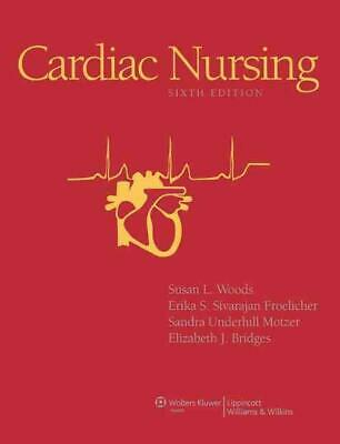 Cardiac Nursing by Susan Woods Hardcover Book (English)