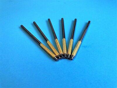 6 Pcs Gold Dental Mouth Mirror Surgical Dental Instruments CE.
