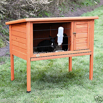 NEW SMALL ANIMAL HUTCH one story cage ENCLOSURE bunny guinea pig rabbit