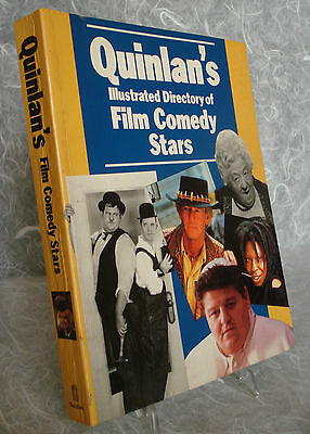 Quinlan's Illustrated Directory Of Film Comedy Stars Batsford 1992 David Quinlan