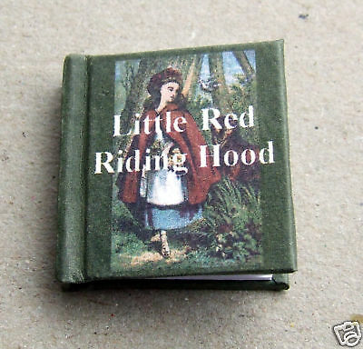 Dollshouse Miniature Book - Little Red Riding Hood