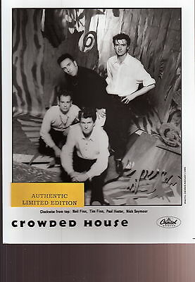 crowded house limited edition press kit
