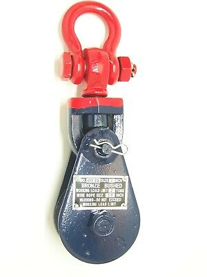 2 Ton Snatch Block with Shackle