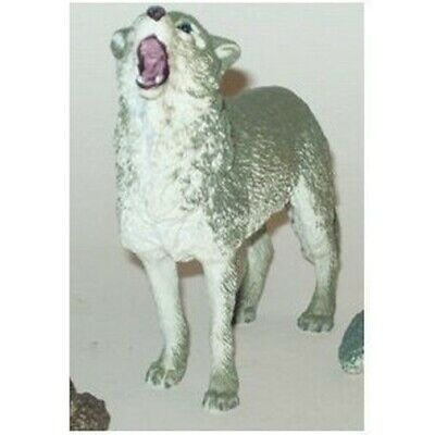 "4.5"" Howling Wolf Animal Replica Figurine Toy"