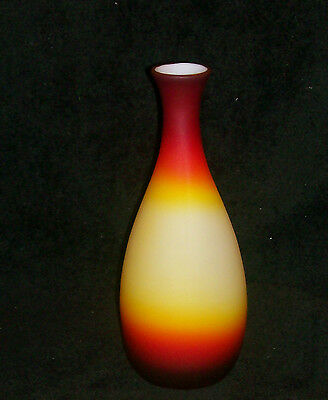 Imperial Peachblow Peach Blow Vase 10 1/2""