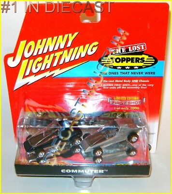 COMMUTER 1ST FIRST SHOT 2 PACK THE LOST TOPPERS JOHNNY LIGHTNING DIECAST JL