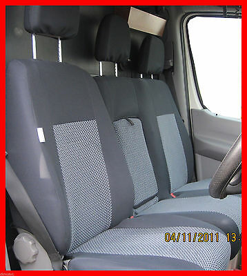 Tailored Seat Covers Volkswagen Crafter 2016 2 1 Grey2