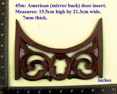 "45M ""American Door insert"" clock case / furniture DIY"