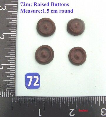 "72M ""4 rosettes"" clock case / furniture DIY"