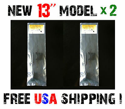 2 Pack Cell Phone Signal Booster External Quad Band Antenna For Home House Car
