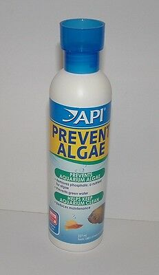 API PREVENT ALGAE 237ml Prevents Algae and Helps Keep Aquariums Clean