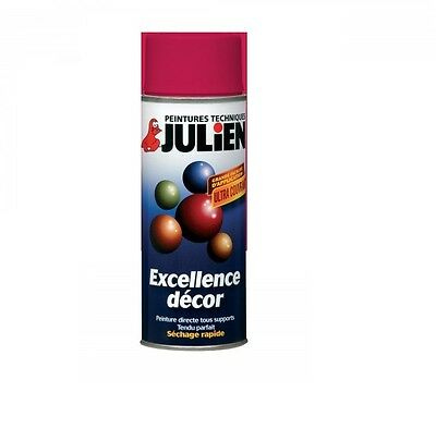 Bombe Peinture Rouge Madras Brillant Ral 3020 Aerosol 400Ml Julien Tous Supports