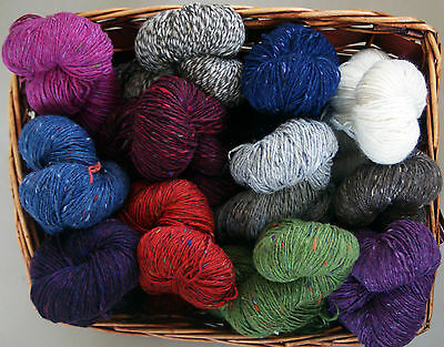 10%  OFF SALE    200g Irish Aran Tweed 100% Donegal Garne Strickwolle aus Irland