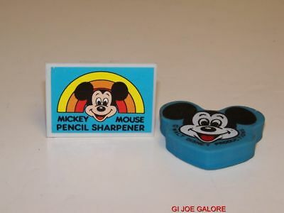 Mickey Mouse Pencil Sharpener(With Eraser)Vintage