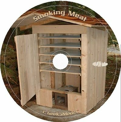 SMOKEHOUSE MEAT 9 Books CD Meat Fish Smoking Plans ... on open pit barbecue plans, moonshine still plans, privy plans, trailer mounted bbq plans, homestead plans, log cabin plans, root cellar plans, barbeque plans, floor plans, still making plans, windmill plans, shed plans, bakery plans,