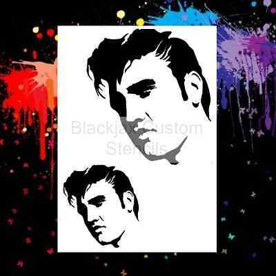 Elvis Set 02 Airbrush Stencil,Template