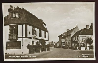 Sussex FINDON The Square early RP PPC
