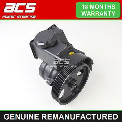 CITROEN XSARA PICASSO POWER STEERING PUMP 2.0 HDi 2000 TO 2006 - RECONDITIONED