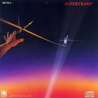 Supertramp - Famous Last Words [New CD]