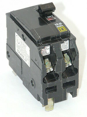Used Square D QO225 2p 25a 120/240v Circuit Breaker
