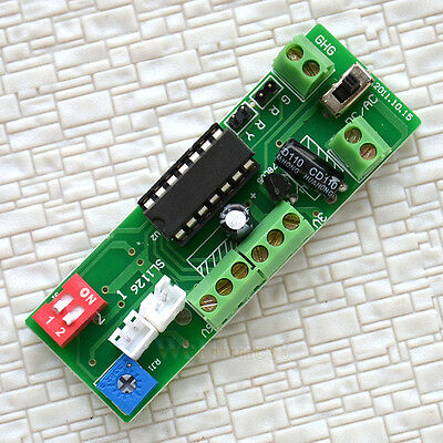 Control the Signals etc... automatically by trains, Delay Switches Circuit Board