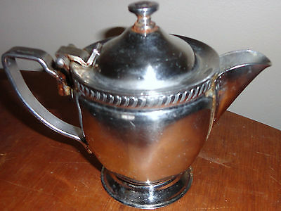 Vintage Legion Utensils Stainless Steel Pitcher Creamer Pat # 1-6-51