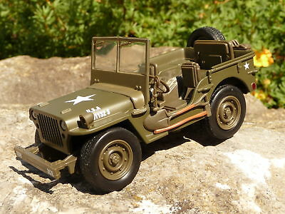 """Modell Auto in 1:32 JEEP Willys USA  """"NEU & OVP""""          61053"""